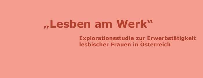 """Endbericht Liegt Vor – Studie """"Lesben Am Werk"""""""