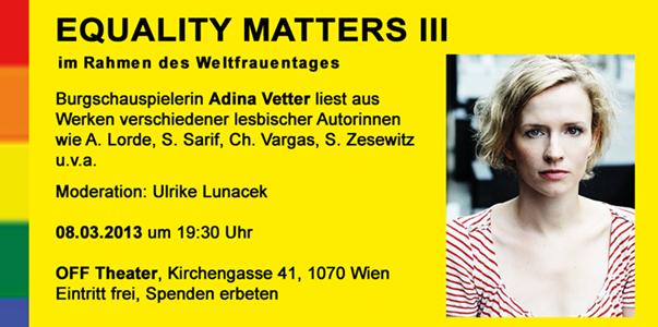 E Matters 2013