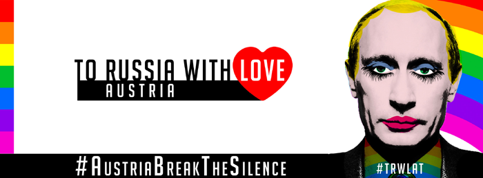 To Russia With Love Logo Co