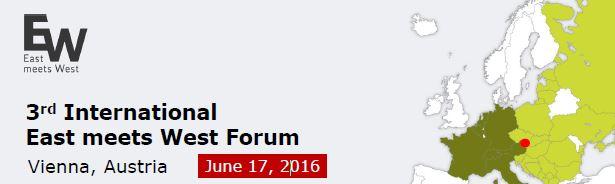 3rd International East Meets West Forum