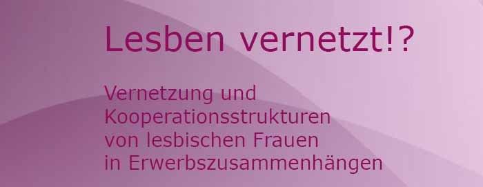"""Studie """"Lesben Vernetzt!?"""""""