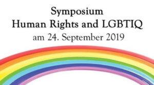 Symposium Human Rights and LGBTIQ @ Kleiner Festsaal